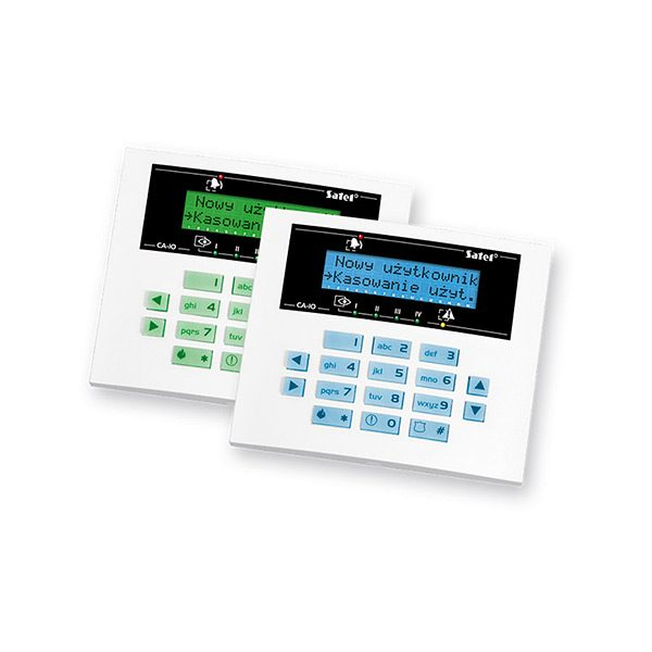 CA 10 KLCD S 600x600 - Klawiatura alarmu Satel CA-10 BLUE-S