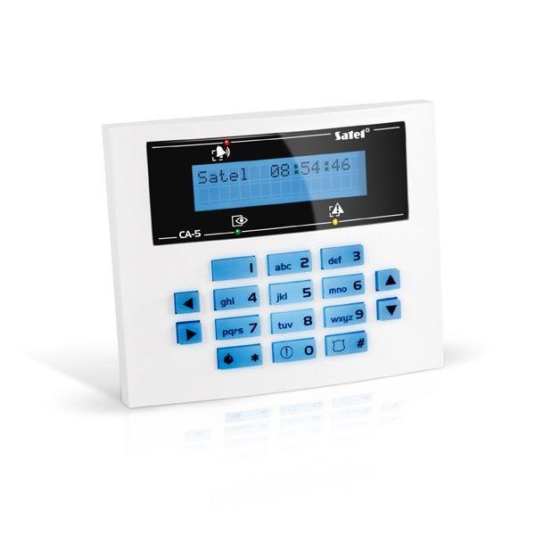 CA 5 BLUE S 600x600 - Klawiatura alarmu Satel CA-5 BLUE-S