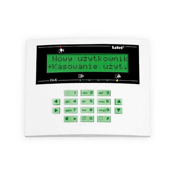 CA 5 KLCD L 600x600 - Klawiatura alarmu Satel CA-5 KLCD-L