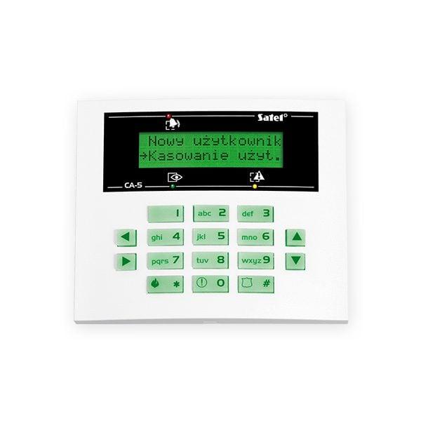 CA 5 KLCD S 600x600 - Klawiatura alarmu Satel CA-5 KLCD-S