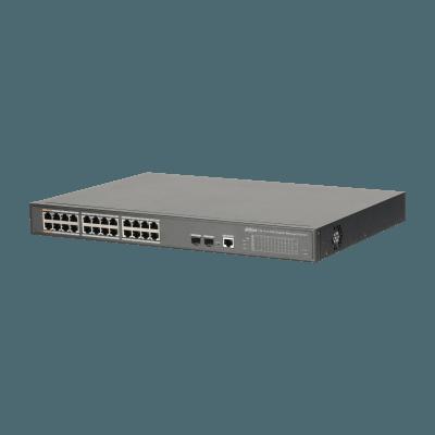 DH PFS4226 24GT 240 thumb - Switch Dahua PFS4226-24GT-240