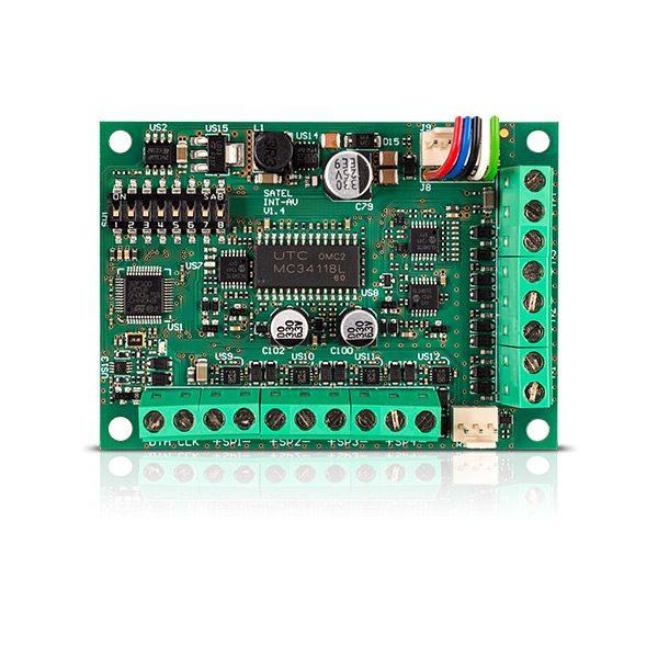 INT AV 600x600 - Moduł alarmowy Satel INT-AV