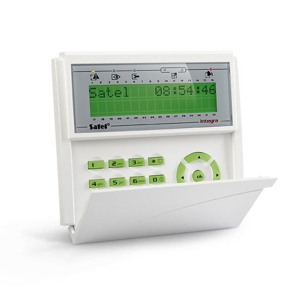 INT KLCD GR 600x600 - Klawiatura alarmu Satel INT-KLCD-GR