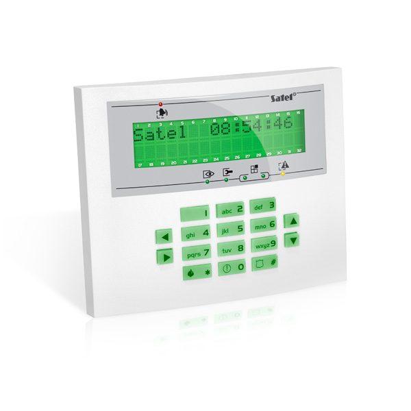 INT KLCDL GR 600x600 - Klawiatura alarmu Satel INT-KLCDL-GR