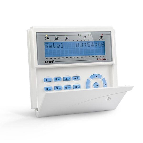INT KLCDR BL 600x600 - Klawiatura alarmu Satel INT-KLCDR-BL