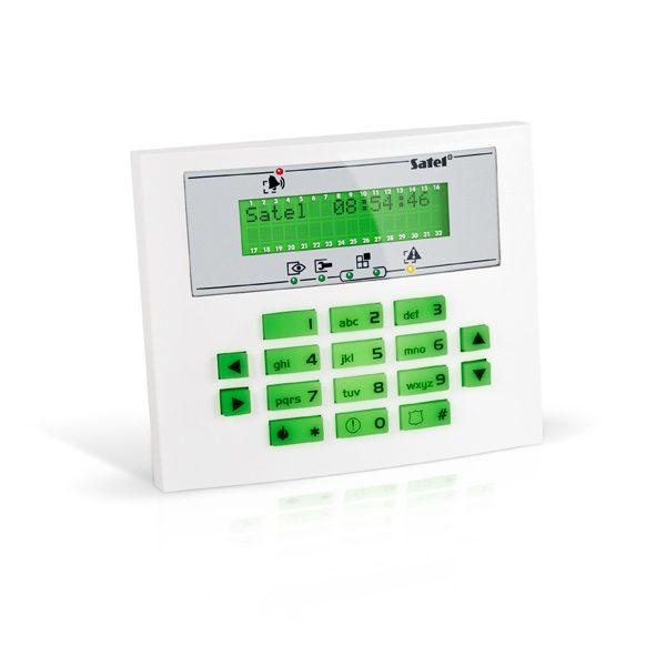 INT KLCDS GR 600x600 - Klawiatura alarmu Satel INT-KLCDS-GR