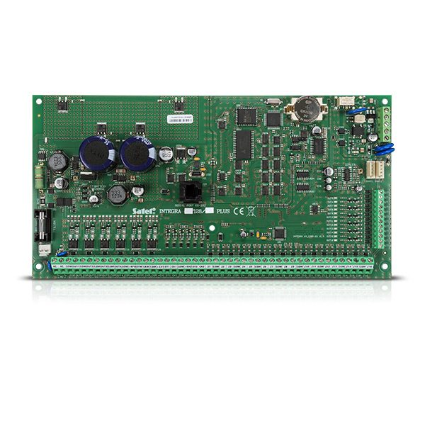 INTEGRA 128 PLUS 600x600 - Centrala alarmowa Satel INTEGRA 128 Plus