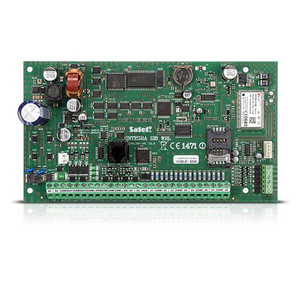INTEGRA 128 WRL 600x600 - Centrala alarmowa Satel INTEGRA 128-WRL