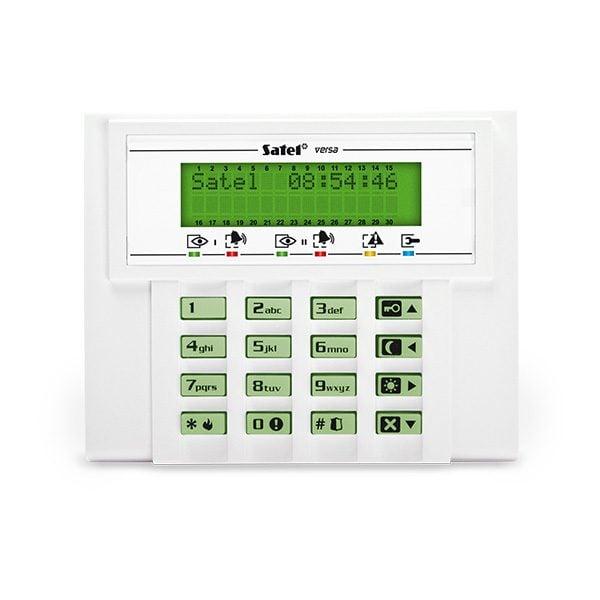 VERSA LCD GR 600x600 - Klawiatura alarmu Satel VERSA-LCD-GR