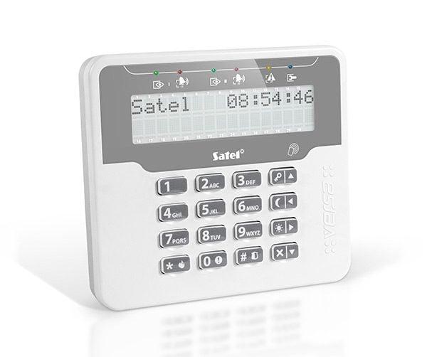 VERSA LCDR WH 600x502 - Klawiatura alarmu Satel VERSA-LCDR-WH