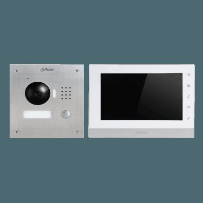 VTK VTO2000A 2 VTH1550CHW 2 thumb - Wideodomofon zestaw Dahua VTK-VTO2000A-2-VTH1550CHW-2(F)