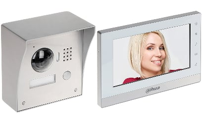 vtk vto2000a vth155 - Wideodomofon zestaw Dahua VTK-VTO2000A-VTH1550CH(S)