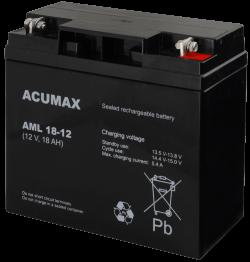 AML18 12 1 250x262 - Akumulator do alarmu ACUMAX AML18-12
