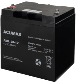 AML28 12 1 250x272 - Akumulator do alarmu ACUMAX AML28-12