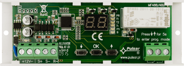 AWZ516 1 600x215 - Moduł przekaźnikowy Pulsar AWZ516