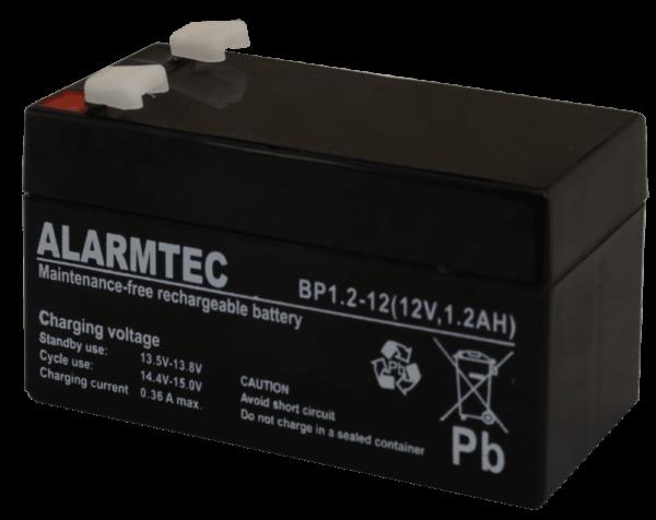 BP12 12 11 600x476 - Akumulator do alarmu Alarmtec BP1,2-12