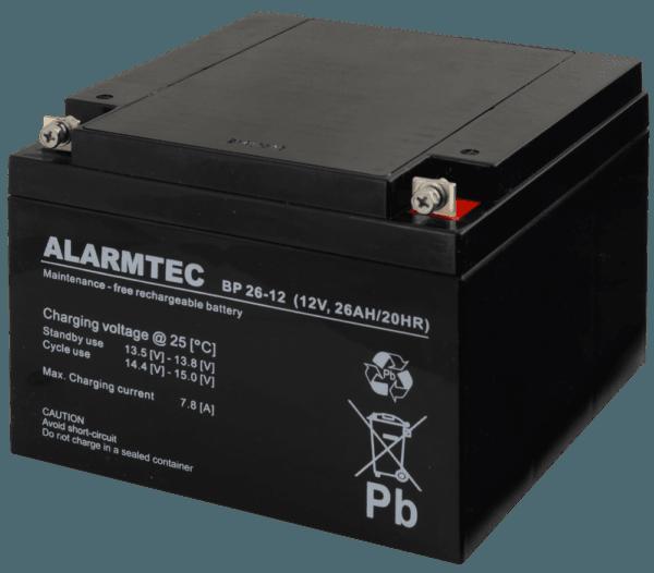 BP26 12 1 600x526 - Akumulator do alarmu Alarmtec BP26-12