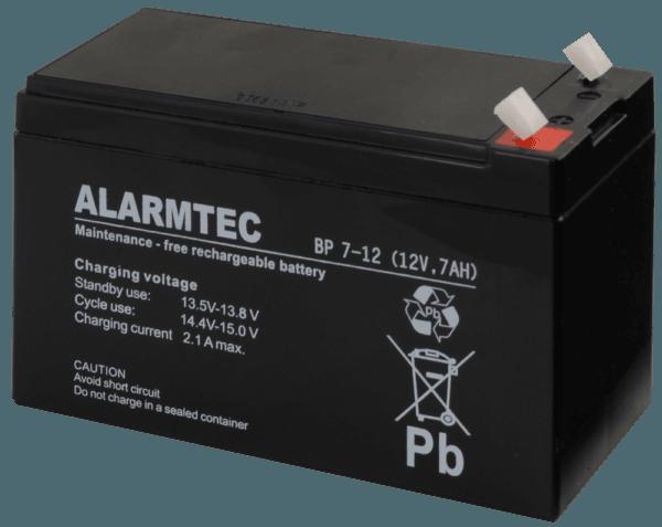 BP7 12 1 600x477 - Akumulator do alarmu Alarmtec BP7-12