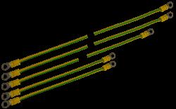 RAPU D 1 250x154 - Zestaw przewodów uziemiających Pulsar RAPU-D