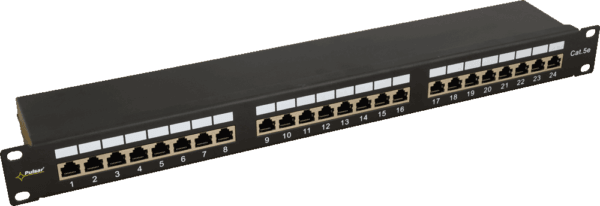 RP F24V5 1 600x206 - Patch Panel Pulsar RP-F24V5