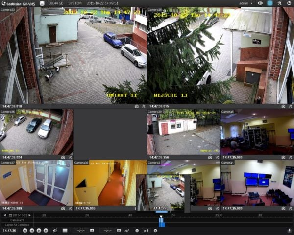gv vms 600x480 - Program do kamer Geovision GV-VMS/2