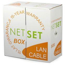 Przewód NETSET BOX F/UTP 5e skrętka ekranowana, zewnętrzna [305m]