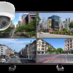 kamery kopulowe. zestaw 150x150 - Zestaw monitoringu 4 kamer kopułkowych