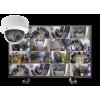 kamery kopulowe. zestaw16 100x100 - Zestaw monitoringu 16 kamer kopułkowych
