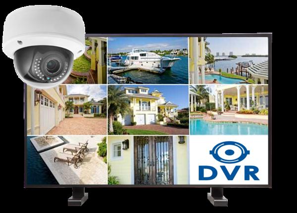 kamery kopulowe. zestaw8 1 600x430 - Zestaw monitoringu 8 kamer kopułkowych