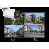 kamery tubowe zestaw 100x100 - Zestaw monitoringu 4 kamer tubowych