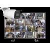 kamery tubowe zestaw16 100x100 - Zestaw monitoringu IP 16 kamer tubowych