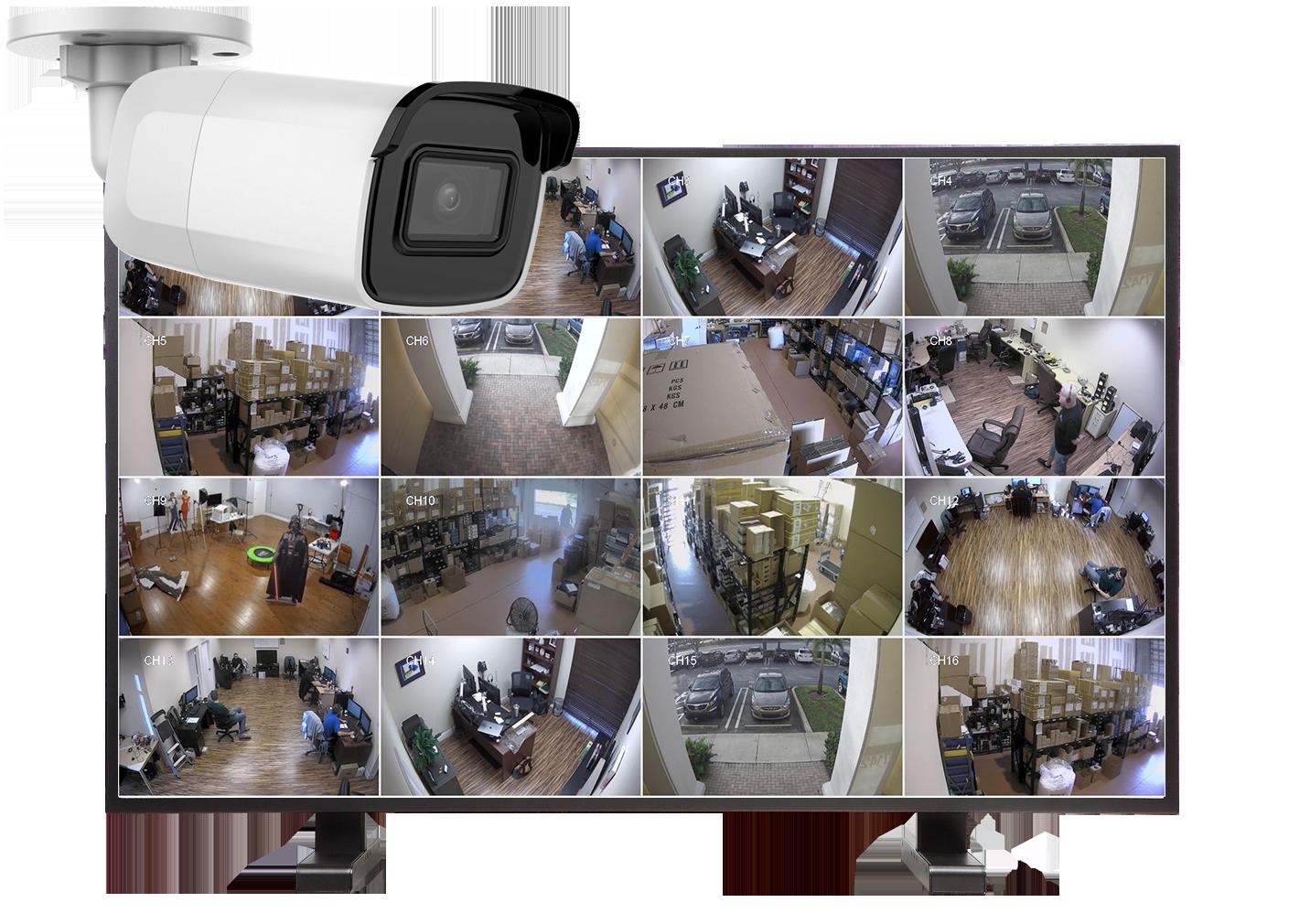 kamery tubowe zestaw16 - Ile prądu pobiera cały monitoring ?