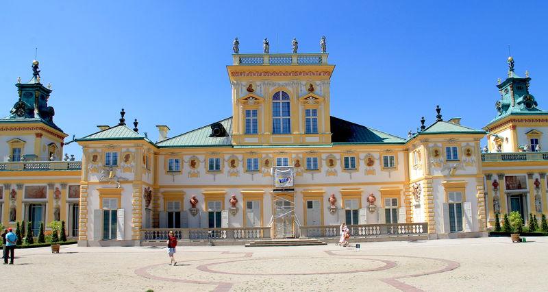 Palac Wilanowski Warszawa - Montaż kamer CCTV Warszawa Wilanów