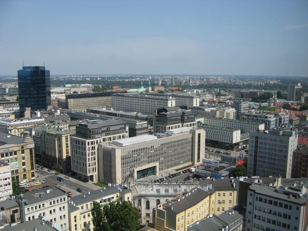 Widok sciana wschodnia 2 - Montaż kamer CCTV Warszawa Śródmieście