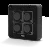 hrt82pb side 100x100 - Panel przycisków Roger HRT82PB