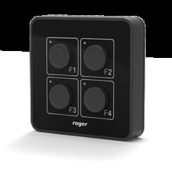 hrt82pb side 250x245 - Panel przycisków Roger HRT82PB