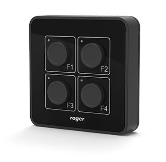 hrt82pb side - Panel przycisków Roger HRT82PB