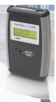 patrol2 ka - Rejestrator pracy wartowników Roger PATROL II LCD