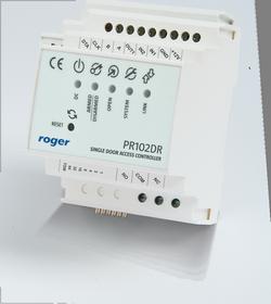 pr102dr side view - Kontroler dostępu Roger PR102DR