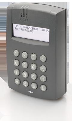 pr602lcd dt i - Czytnik zbliżeniowy Roger PR602LCD-DT-I