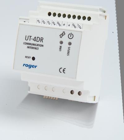 ut 4dr l - Interfejs komunikacyjny Roger UT-4DR