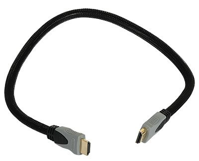 1 - Przewód HDMI 0,5m 28AWG v1.4 High Speed Cable with Ethernet
