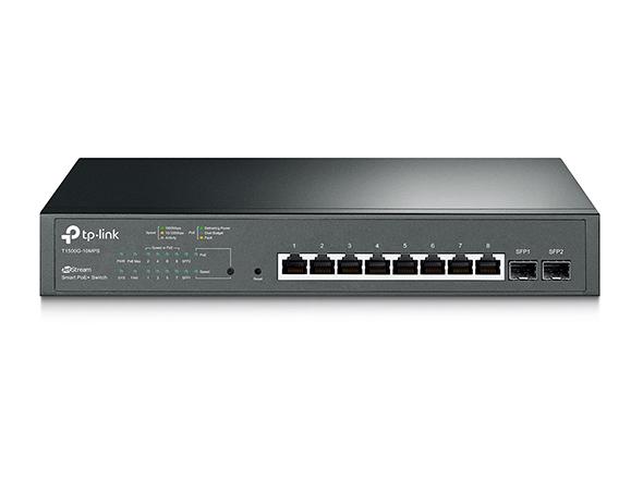 21 - Switch TP-Link T1500G-10MPS 8xGE