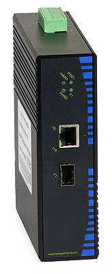 27 - Switch przemysłowy PoE ULTIPOWER 311SFP-POE 1xGE PoE