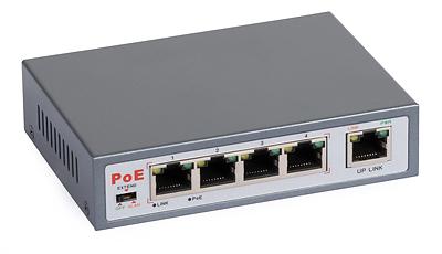 30 - Switch PoE ULTIPOWER 0054af 802.3af 5xFE (4xPoE)