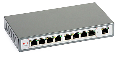 33 - Switch PoE ULTIPOWER 0098af 802.3af 9xFE (8xPoE)