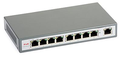 33 - Switch PoE ULTIPOWER 0098af 802.3af 9xFE (8xPoE)