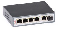 35 250x128 - Switch PoE ULTIPOWER 0154afat 802.3af/at 5x RJ45 (4xPoE) 1xSFP