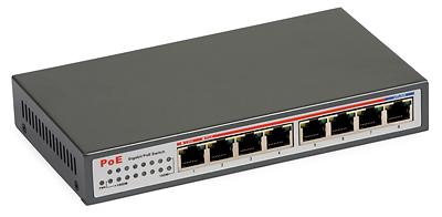 42 - Switch Gigabit PoE ULTIPOWER 0800af 802.3af 8xGE (1000Mb/s)