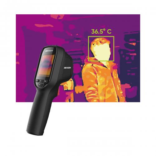 500 0ds 2tp31b 3auf1 - Kamera do pomiaru temperatury ciała Hikvision DS-2TP31B-3AUF, 160x120, podręczna, obiektyw 3.1mm